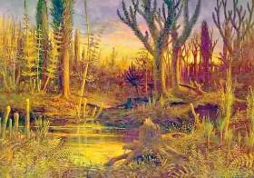 La lignificación y evolución de las plantas